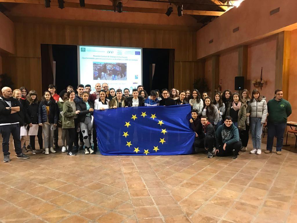 Los jóvenes de Doñana plantean propuestas al Parlamento Europeo
