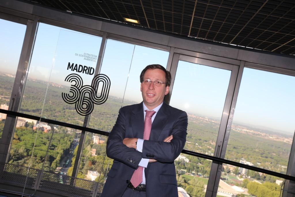 Presentación del plan Madrid 360.